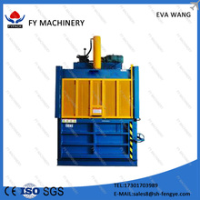 Best selling full auto Waste Paper/Cardboard/cotton baling machine