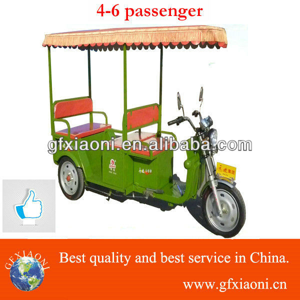 new model electric tricycle electric riskshaw for passenger