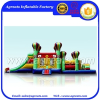 Backyard Obstacle Challenge Inflatables Hot Sale to USA G5023