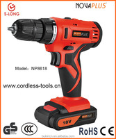China Supplier Best Sales 18V Cordless Drill Mobile Power Tools