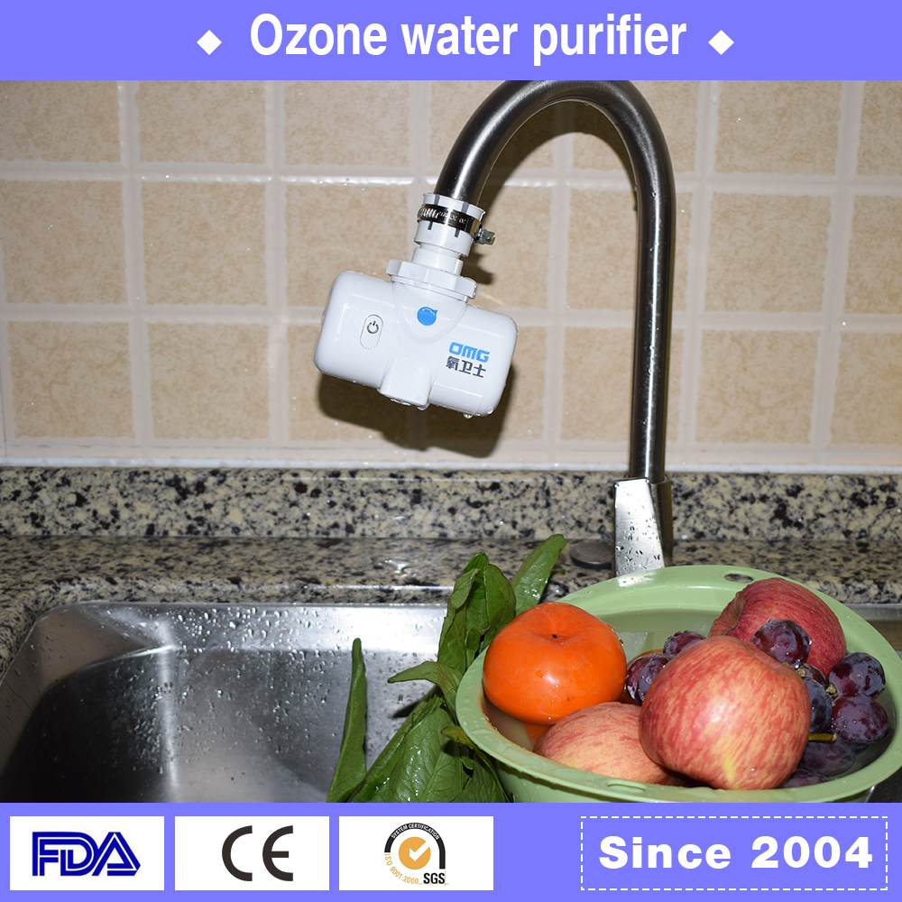 Widely ultraviolet water purifier and vegetable fruit sterilizer ozone water purifier without electricity