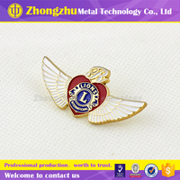 2015 professional china supplier custom metal lapel pin,offset printed badge for sale