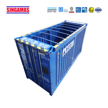 Cheap nice sea container blue open top transportation equipment for sale