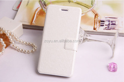 the brozing high quality pu meturial leather cover for phone case
