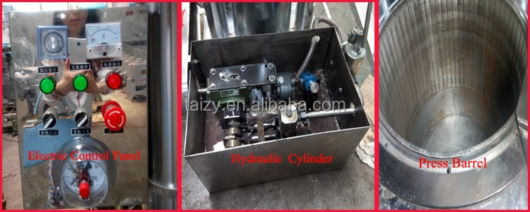 automatic commercial hydraulic sesame oil extraction machine