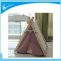 indoor and bedroom wood frame dog kennels