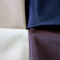 High quality artificial leather pu/pvc leather classic texture for sofa or bag