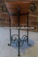 Large Iron Plant Flower Pot Stand Garden Decoration