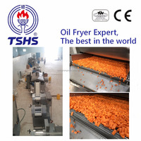 Made in Taiwan Fried Wheat Stick Snacks Food Processing Line