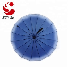 Advertised Printing Full Body Auto open 16 ribs Straight Umbrella For Sale
