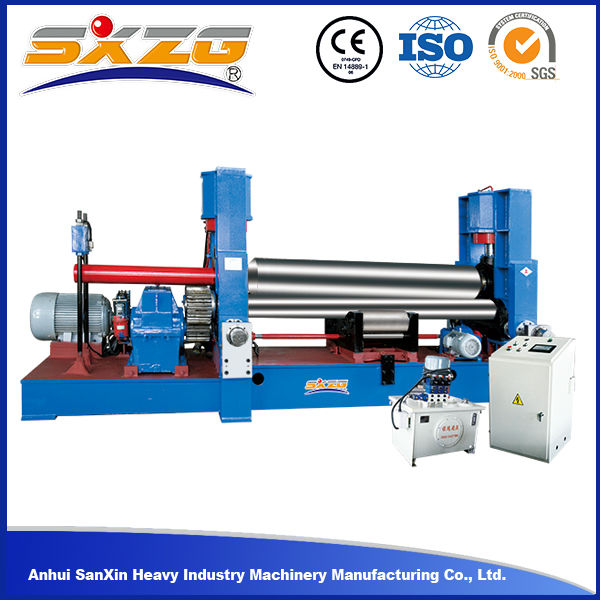 W11S series hydraulic used plate rolling machine with good price youtube