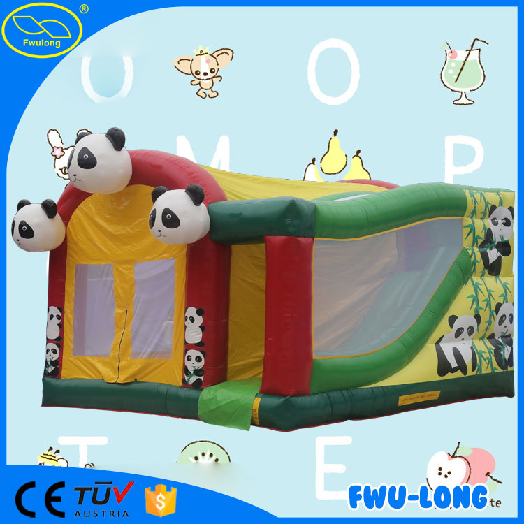Commercial OEM funfair inflatable bouncy castle