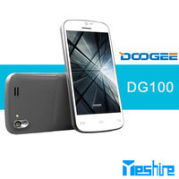 Dropshipping android phone doogee DG100 Cheap phone 4.0inch Dual SIM MTK6572 dual core 1.3GHz 4gb rom IPS touch screen
