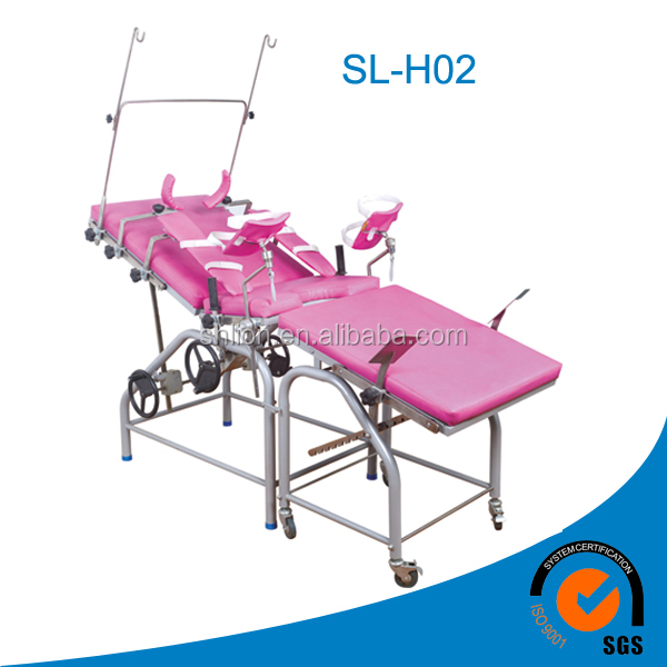 Manual Gynecological Examination Table Medical Examination Table