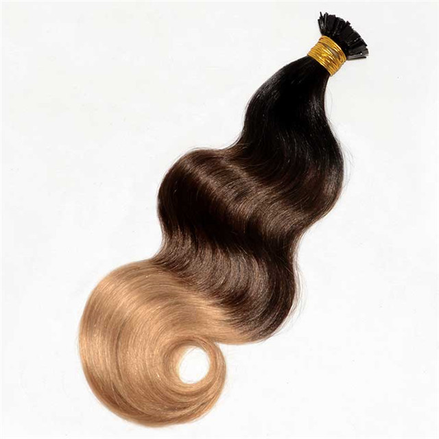 Wholesale Fusion Bonds Human Hair High Quality Body wave Indian Hair On Sale