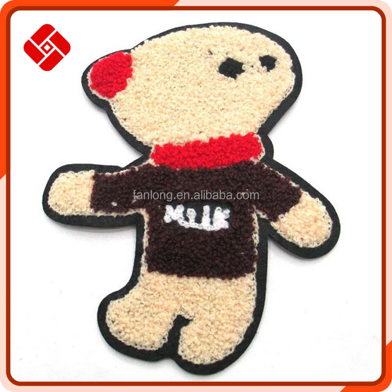 cartoon embroidery applique for baby clothes