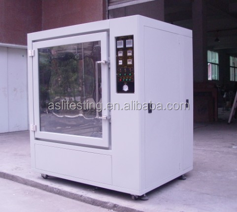 reliable rotating rain spray simulation chamber factory price