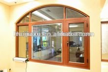 Aluminum casemnet window for hot sales fashion design window fixed glass opening window in guangzhou factory