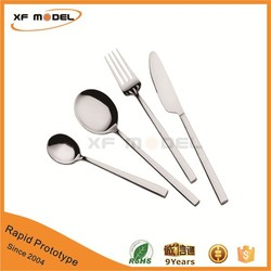 High Grade Certified Factory Supply Fine CNC Machining Metal Prototype Spoon