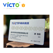 2017 New food grade uv barcode plastic combo special die cut pvc card with best service