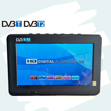 7 inch DVB-T-T2 Digital Analog 1024x600 televisions receiver outdoor monitor led display digital tv converter to analog