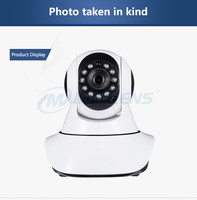 Competitive plastic 360 degree IR night vision motion detect P2P 720p 1MP remote control PTZ IP digital video camera