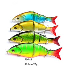 Segmented Hard Body Bait Plastic Jointed Fishing Lures