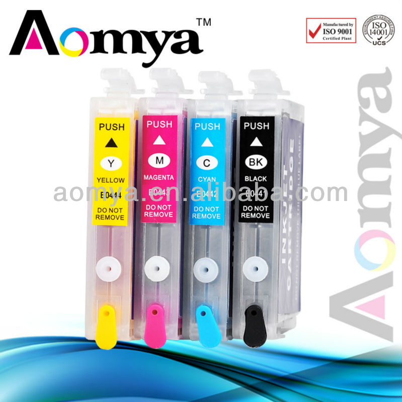 Empty inkjet cartridge T0441 T0442 T0443 T0444 compatible for Epson Stylus CX6600 refill ink cartridge for cx6600