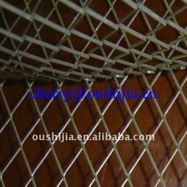 Steel/Aluminum/Stainless Steel Sheet Expanded Metal Mesh