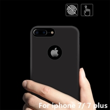 360 ultra-thin matte <strong>case</strong> for iphone 7 plus hard plastic phone pc cover for apple iphone 7 7 plus fundas boiled with car magnet