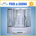 luxury steam shower room bathroom shower enclosure with seat