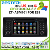 Android car dvd player for BMW E39 X5 ZT-ABM701 +1 SD map card+ 1 rearview camera + 1 TV BOX