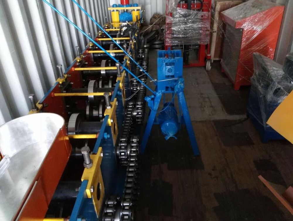 Unistrut 41x21 Slotted Hot Dip Galvanized Channel Roll Forming Machine