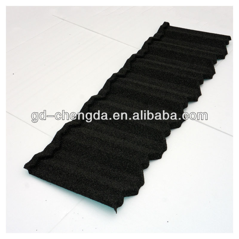 0.4mm thick galvanised commercial metal zinc coated roofing tiles