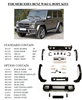 bumper for MERCEDES BENZ W463 G-class adapt 2006-2013 W463 G65/G500/G55/G63 AMG bumper by maker