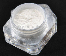 white synthetic mica powder