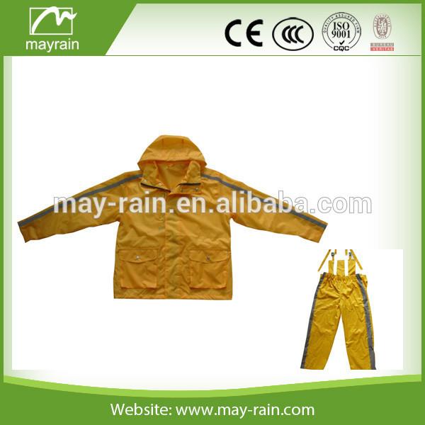 high quality rain suit
