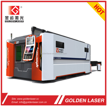 2000W FIBER LASER Metal Sheet Fiber Optic Laser Cutting Machine with Closed Type Shuttle Tables