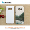 Sublimation 3D Heavy Duty Phone Cover Case For Galaxy S8