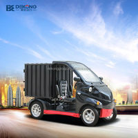 short distant delivery supermarket grocery courier electric fuel mini cargo van