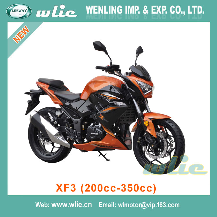 Factory Supply best cheap beautiful gas scooter kit bajaj pulsar motorcycle CHEAP street racing XF3 (200cc, 250cc, 350cc)