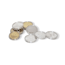 Cheap custom promotion plastic acrylic transparent coin capsules