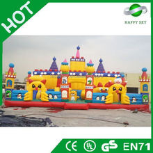 2016 high quality EN71 certificate inflatable amusement park, funny inflatable amusement park, inflatable fun city