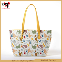 Made in china ladies fashion handbags designer