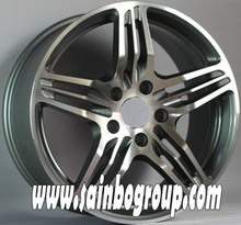 5,10,16 holes alloy wheels durable modern design vacuum chrome alloy wheels for all cars