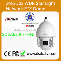 Dahua Auto tracking 2Mp Full HD 30x WDR Star Light Network IR PTZ Dome Camera,beat price