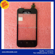 KLT for Lenovo A66 touch Screen Front Glass Tablet PC Mobile Cell Phone Accessories Repair Spare Parts Panel Replacement