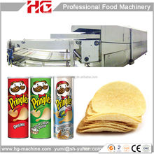After-sales available shanghai food machine suppliers for pringles chips