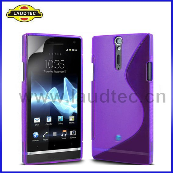 S Line TPU Gel Case for Sony Ericsson Xperia S Xperia Arc HD LT26i