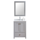 2018 Cheap Price Small Corner Solid Wood Modern Bathroom Cabinets With Mirror